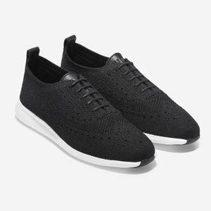Cole Haan 2 Zero Grand Stchlte Knit Oxford Shoes